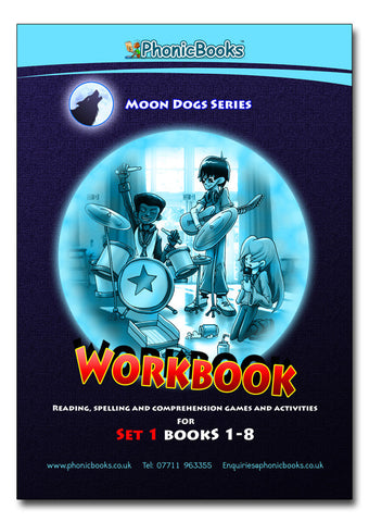 WMD1 - Moon Dogs Workbook set 1
