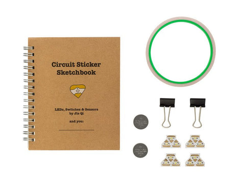 Chibitronics Starter Kit w/ Circuit Sticker Sketchbook