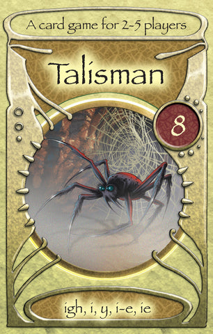 TG8 - Talisman Card games igh, i, y, ie, i-e