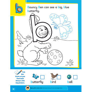 My First Alphabet Activity Book Etc Educational