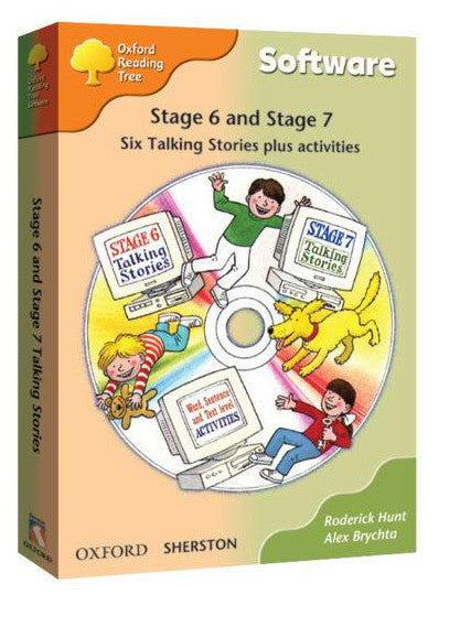ORT Stage 6&7 Talking Stories CD-Rom (6 stories)