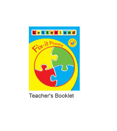 Level 2  Fix-it Phonics - Teacher's Booklet