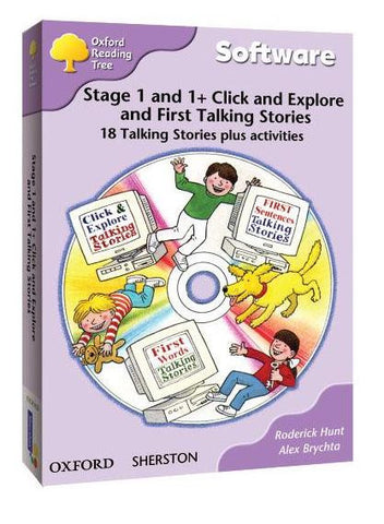 ORT Stage 1&1+ Talking Stories CD-Rom (18 stories)