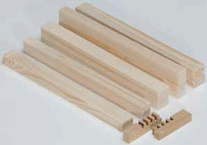 Wood ledge (30 pcs)