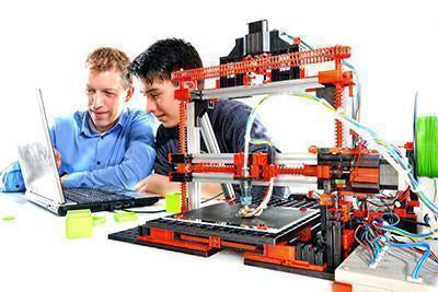 Build to print:  fischertechnik 3D printer