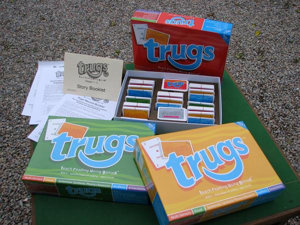 Trugs phonic card game
