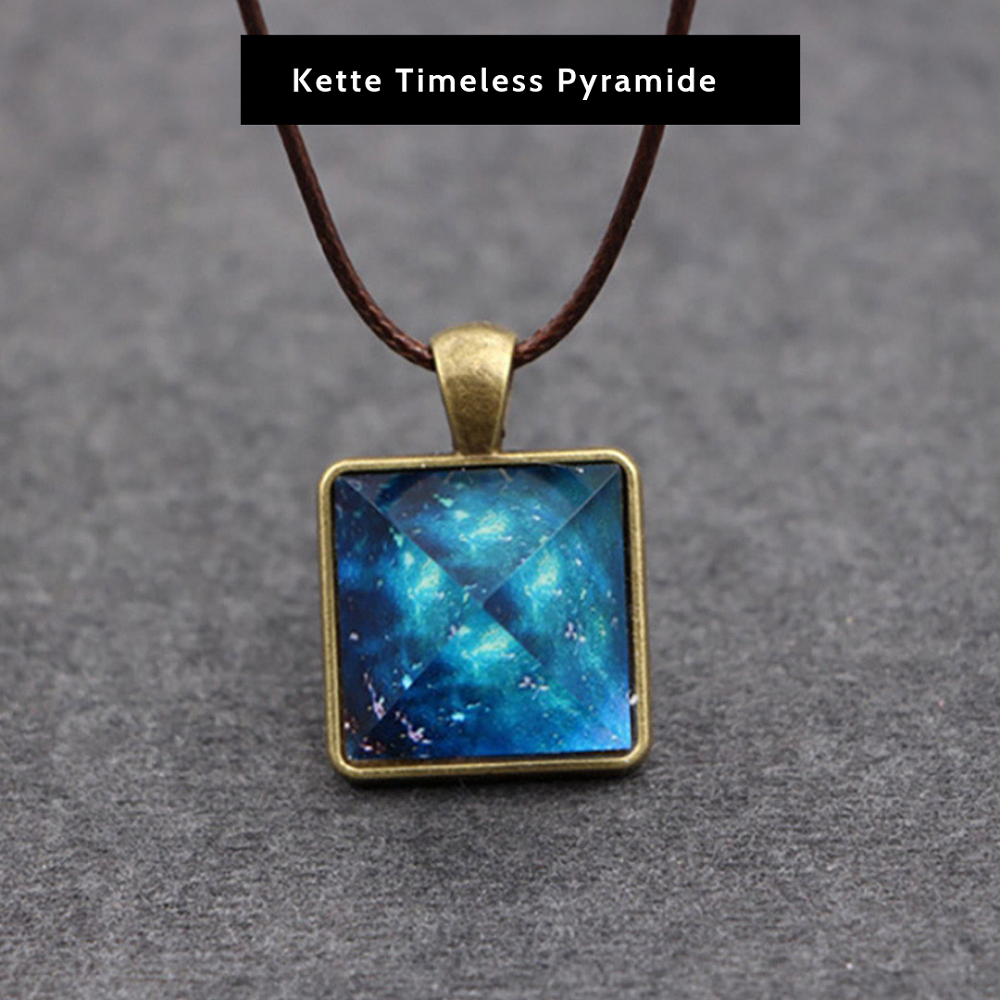 Kette Timeless Pyramide
