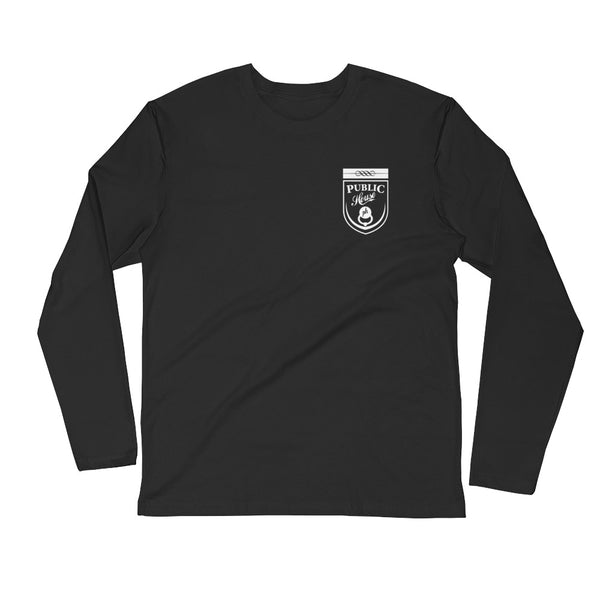 Public House logo Long Sleeve Tee