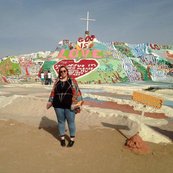 Dreams coming true - finally got to visit Salvation Mountain