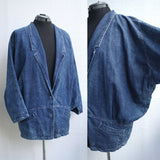 Ultimate 80s Acid Wash Denim Jacket