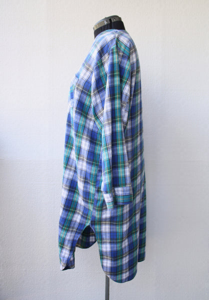Classic 90s Plaid Nightdress