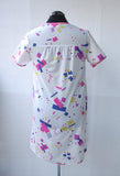 Printed 80s Cotton Blend Nightgown