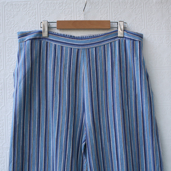 Casual AF Striped Linen Pants