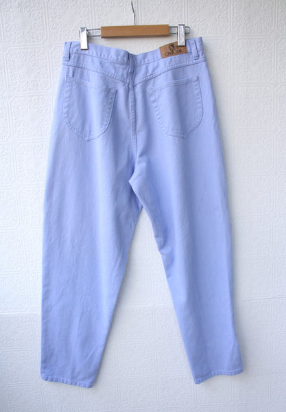 Lavender Ultra Soft High Waisted Mom Jeans