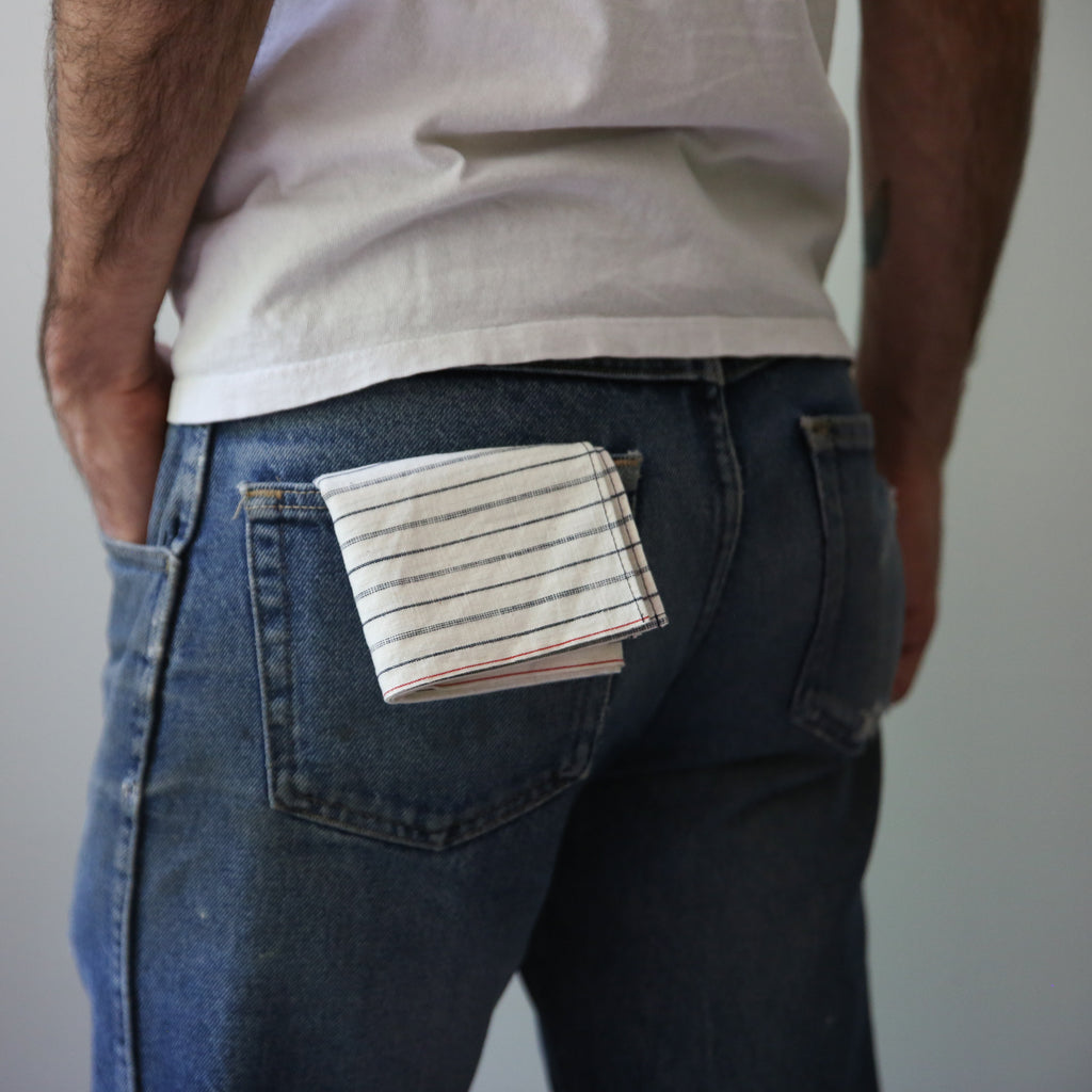 Small Batch - White Selvage Hanky