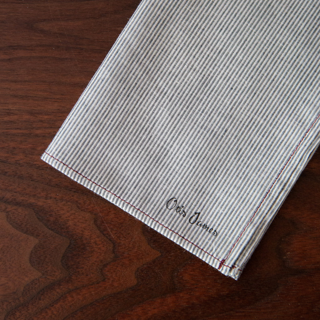 Small Batch - Fine Stripe Hanky