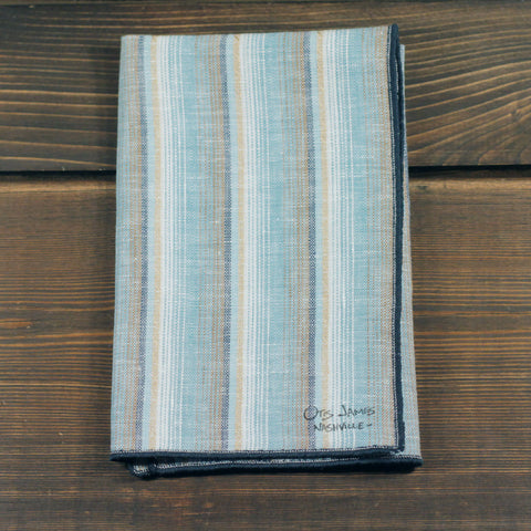 P.Square - Beach Stripe Linen