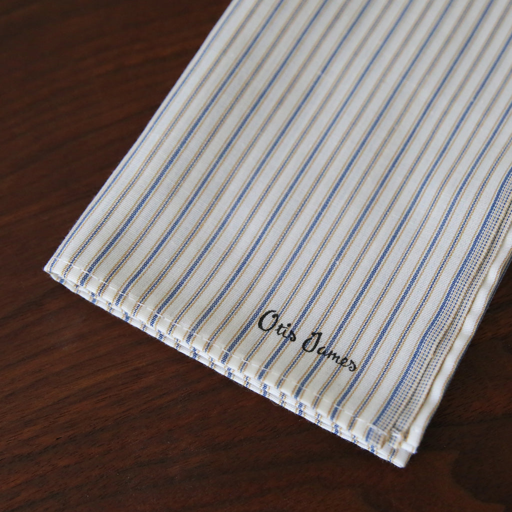 Small Batch - Shirting Stripe Hanky