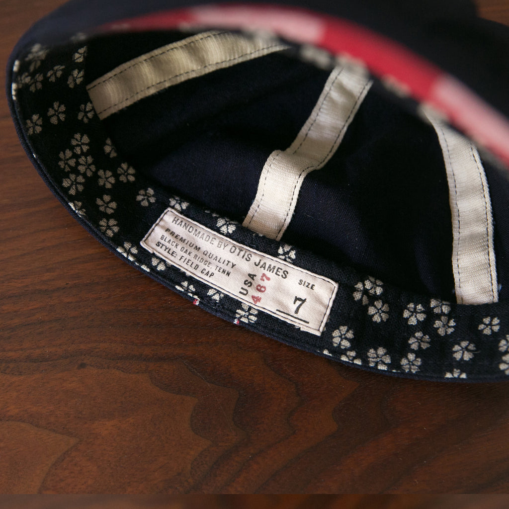Small Batch - Selvedge Indigo Cap