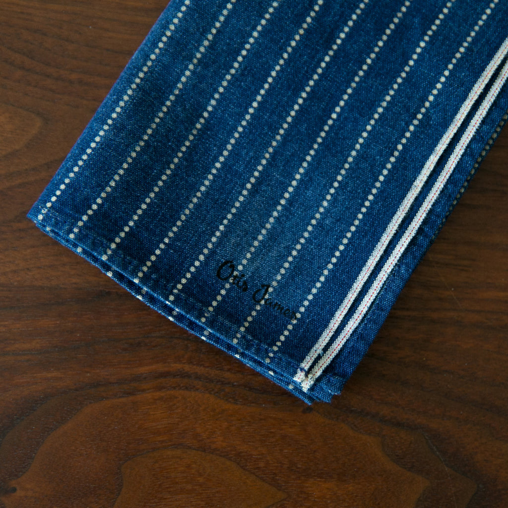 Small Batch - Wabash Stripe Hanky