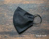 Face Mask - Black Twill
