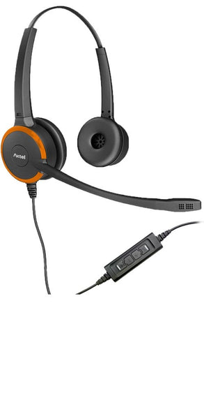 Axtel Headset Axtel Prime MS Duo Noise Cancelling Stereo Headset USB Connection - AXH-PRIMSD