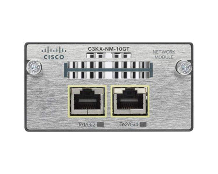 Cisco Switches Cisco 10 Gigabit Ethernet Module for 3750X 3560X - C3KX-NM-10GT