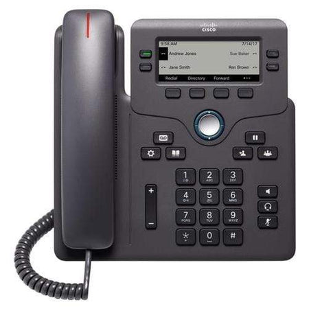 Cisco Phones - Cisco Cisco 6851 Gigabit IP Phone 3rd Party Call Control - CP-6851-3PCC-K9 Refurbished