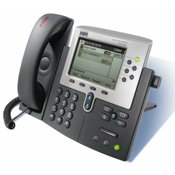 Cisco Phones - Cisco SCCP PoE Cisco 7960 G IP Phone - CP-7960G