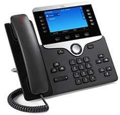 Cisco Phones - Cisco Refurbished Cisco 8851 Gigabit IP Phone 3rd Party Call Control - CP-8851-3PCC-K9
