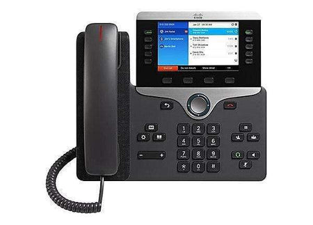 Cisco Phones - Cisco Cisco 8861 Gigabit IP Phone 3rd Party Call Control - CP-8861-3PCC-K9 Refurbished