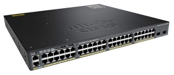 Cisco Switches New Cisco Catalyst 2960X 48 Port Switch - WS-C2960X-48TD-L New