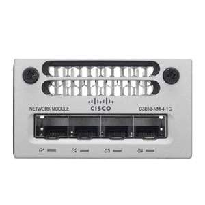 Cisco Switches Cisco Catalyst C3850 4 Port 1GE SFP Module - C3850-NM-4-1G