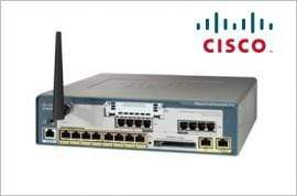 Cisco IP PBX Systems Cisco UC540 Unified Communications Wireless Router - UC540W-FXO-K9