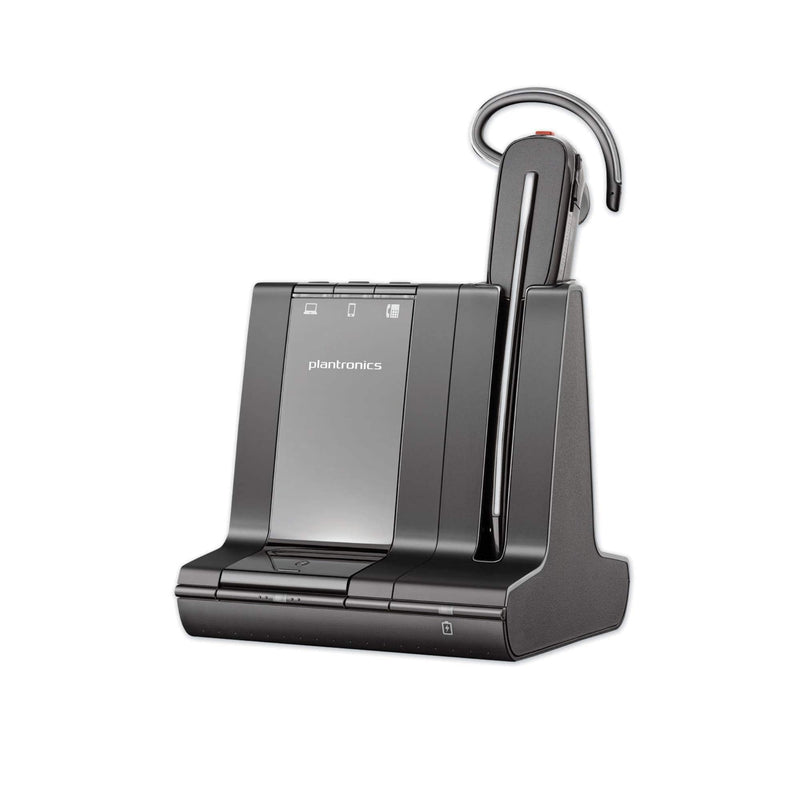 Plantronics S8240-M, Headset, SAVI 3-in-1, Convertible, MOC, DECT 6.0, NA - New