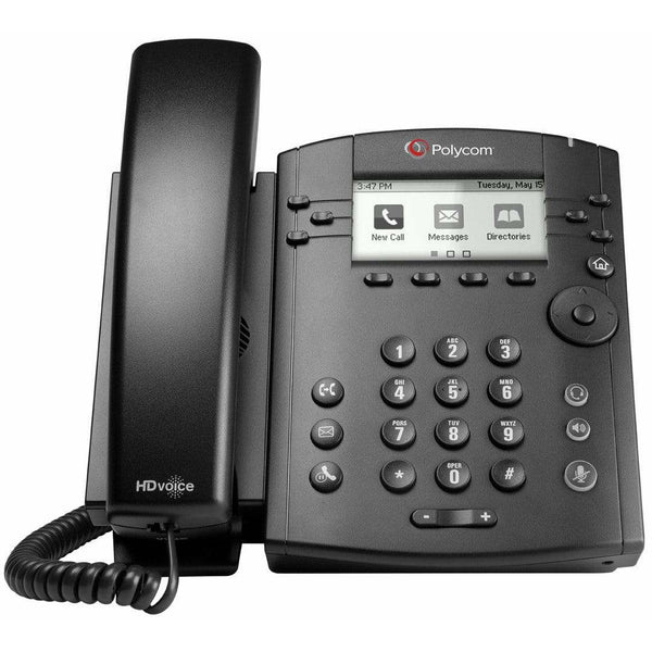 Polycom IP Phones - Polycom Refurbished Polycom VVX301 IP Phone - VVX 301 2200-48300-025 Refurbished