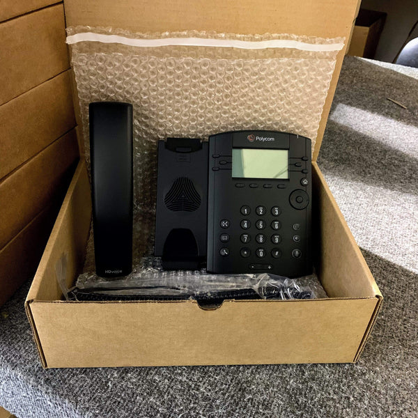 Polycom IP Phones - Polycom Polycom VVX310 Gigabit IP Phone - VVX 310 2200-46161-025 Grade B