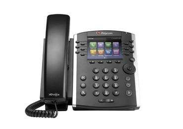Polycom IP Phones - Polycom Polycom VVX401 IP Phone - VVX 401 2200-48400-025 Refurbished