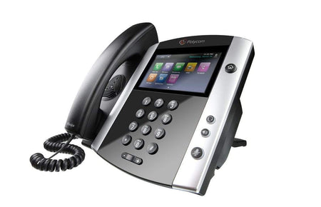 Polycom IP Phones - Polycom GradeB Polycom VVX600 Gigabit IP Phone - VVX 600 2200-44600-025 Grade B