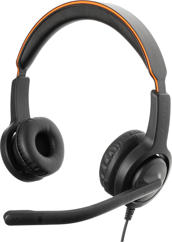 Axtel VOICE 40 HD duo Noise Cancelling Stereo Headset - AXH-V40D