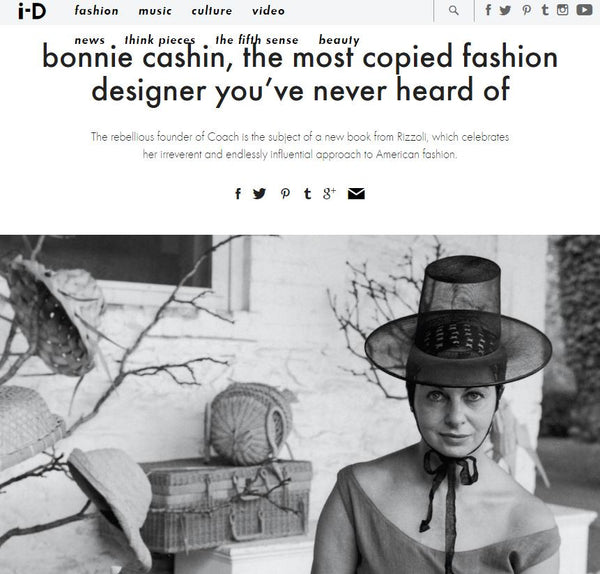 I-D: Bonnie Cashin, the most copied designer you've never heard of