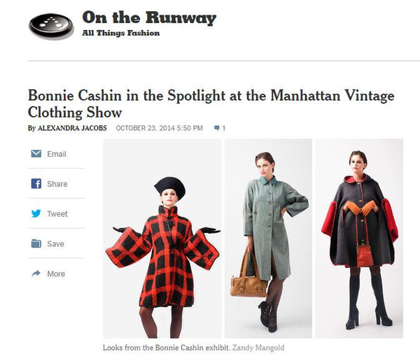 The New York Times: On the Runway