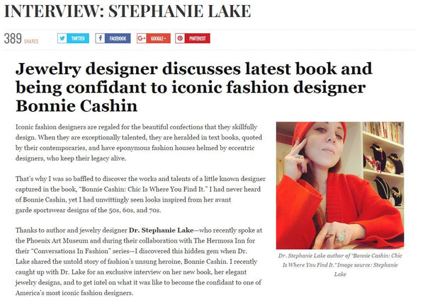The Chic Spy: Stephanie Lake