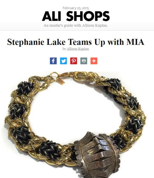 Stephanie Lake Teams up with MIA