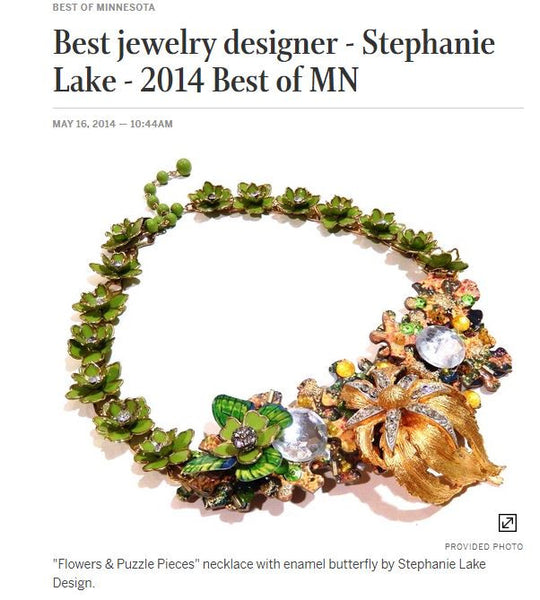 Best Jewelry Designer (Star Tribune)
