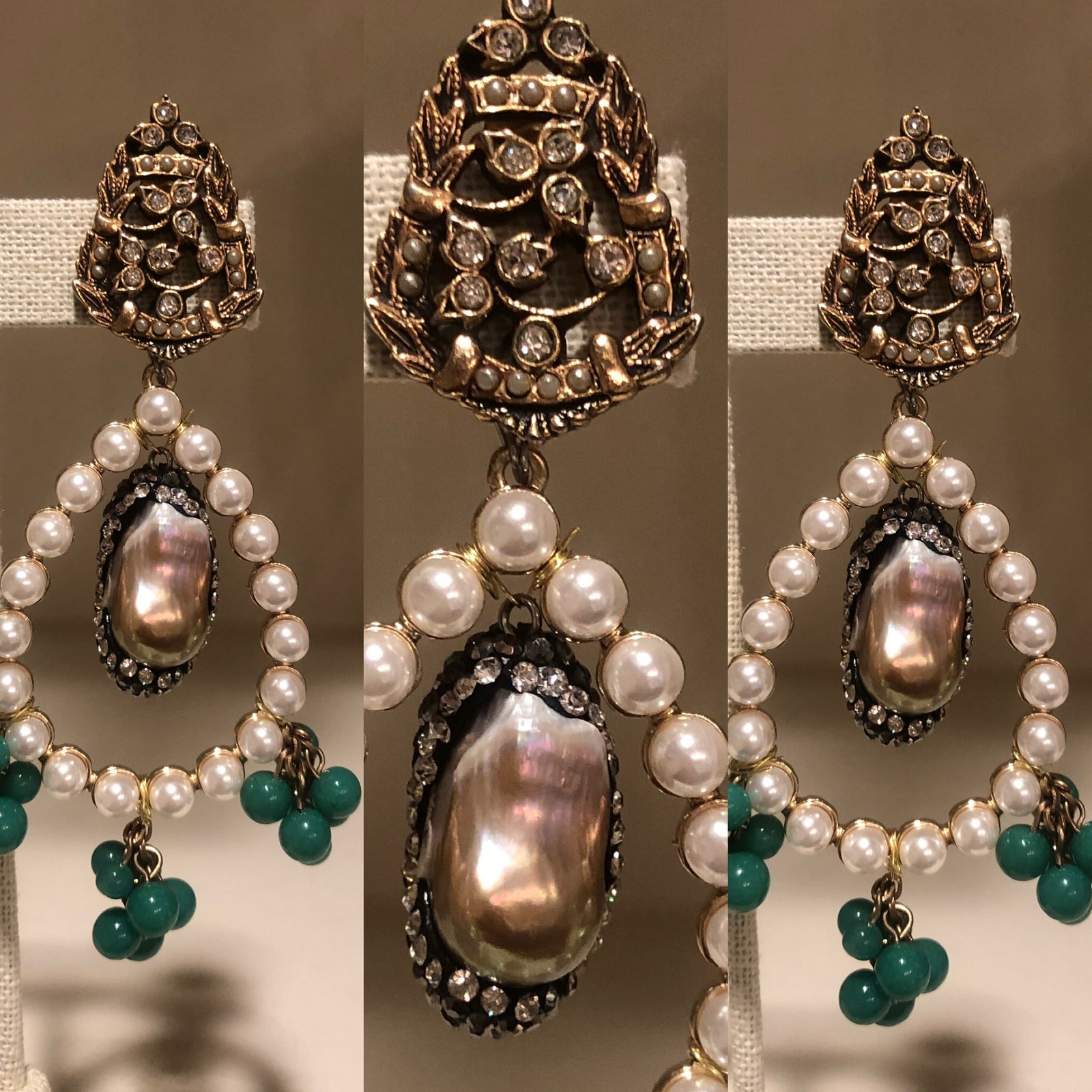 Jeweled Baroque Pearl