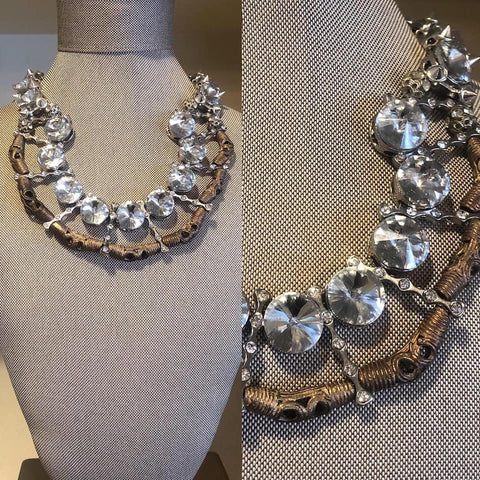 Braided and Woven Collar