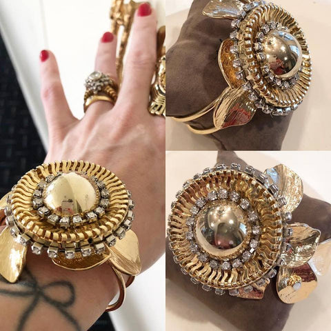 Monumental Mixed Gem Cuff