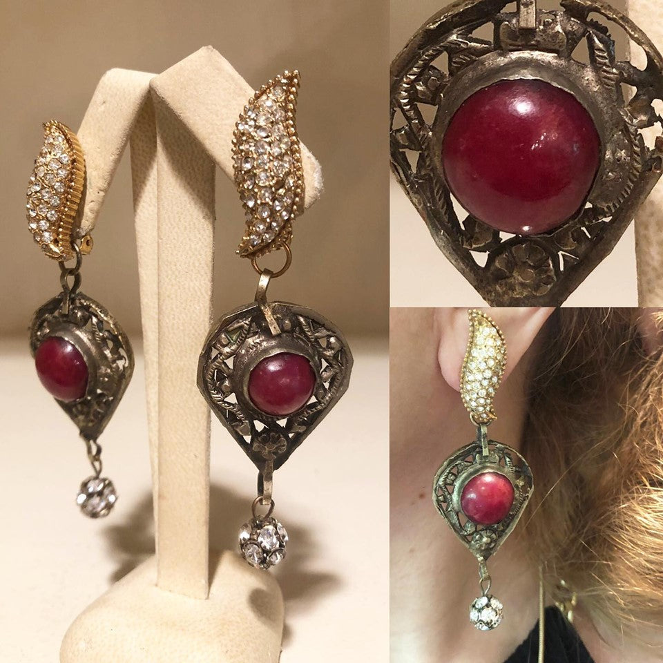 Antique Ruby Paste