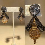 Marcasite Wrapped Coins